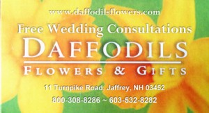 Free Wedding Consultations Daffodils Flowers