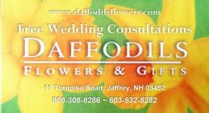 Free Wedding Consultations Daffodils Flowers